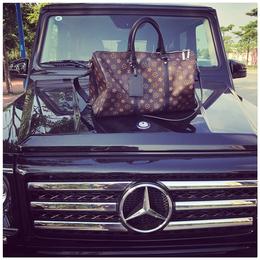 男女通用运动健身包多功能大容量印花行李包单肩斜跨手提包旅行包