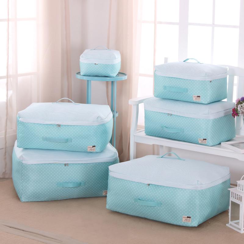 家用装被子的袋子收纳袋棉被超大布艺防水潮整理箱行李衣服打包袋