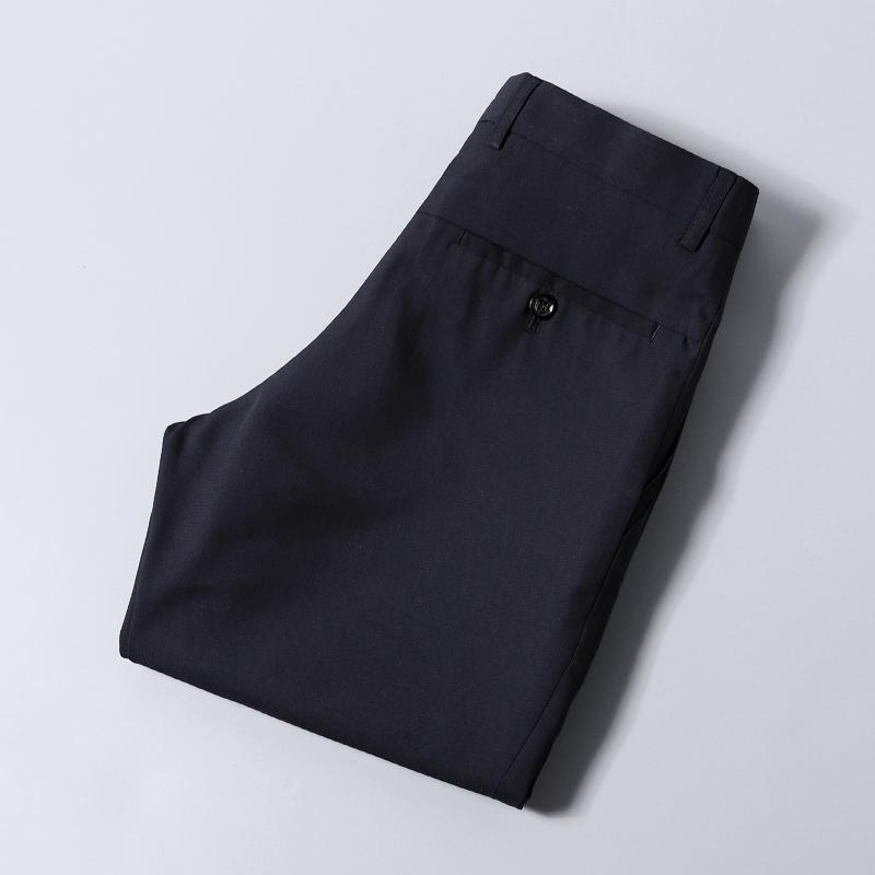 超薄西裤 夏季新款西裤薄款透气免烫抗皱直筒休闲剪标上班正装