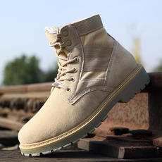 Martin boots men to help men's snow boots spring wild desert boots British style short boots high help tool boots