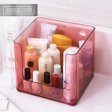 Transparent cosmetic storage box Simple desktop artifact home dormitory female mask bathroom skin care rack