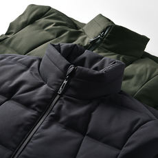 DHYW099 company goods, real goods! Men's casual stand collar windproof warm down jacket 81021