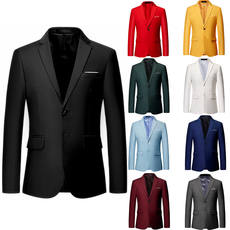 Men's business casual double button suit jacket jacket Slim professional tooling plus fertilizer XL large suit