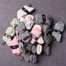 Can be equipped with couples, cold, wool socks, blended men's thick towel, long wool socks, men's socks