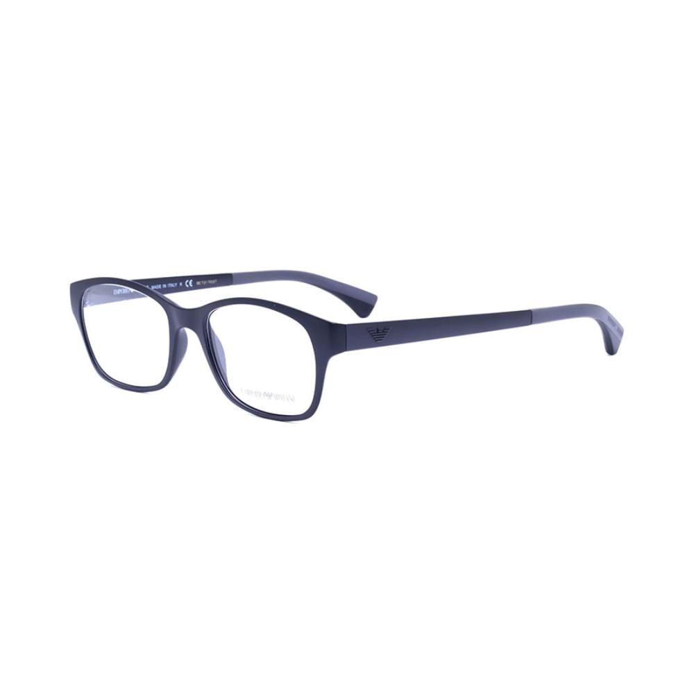 预售 EMPORIO ARMANI 黑色圆角方形全框眼镜架