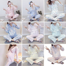 Loss clearance, month, clothing, cotton, spring, summer, summer, postpartum, maternal, breastfeeding, nursing, pajamas, home service