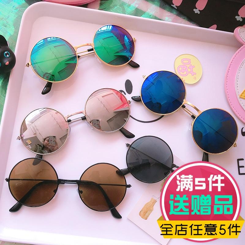 米小小通用夏季太阳镜时尚个性街拍学生墨镜出街旅游装饰自拍眼镜