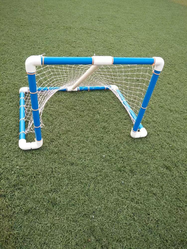 幼儿园手工制作自制教玩具推小球足球门球体育室内户外游戏感统