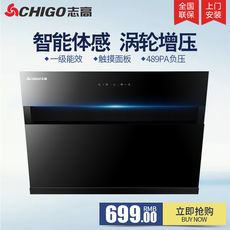Chigo / Chigo CXW-200-F22 range hood household side suction kitchen range hood small and medium
