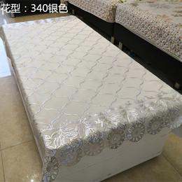 pvc银色茶几餐桌桌布小清新田园塑料台布防水防烫免洗茶几电视柜