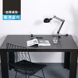 写字台桌布长方形加厚纯色不透明台布北欧ins风pvc桌垫办公书桌布