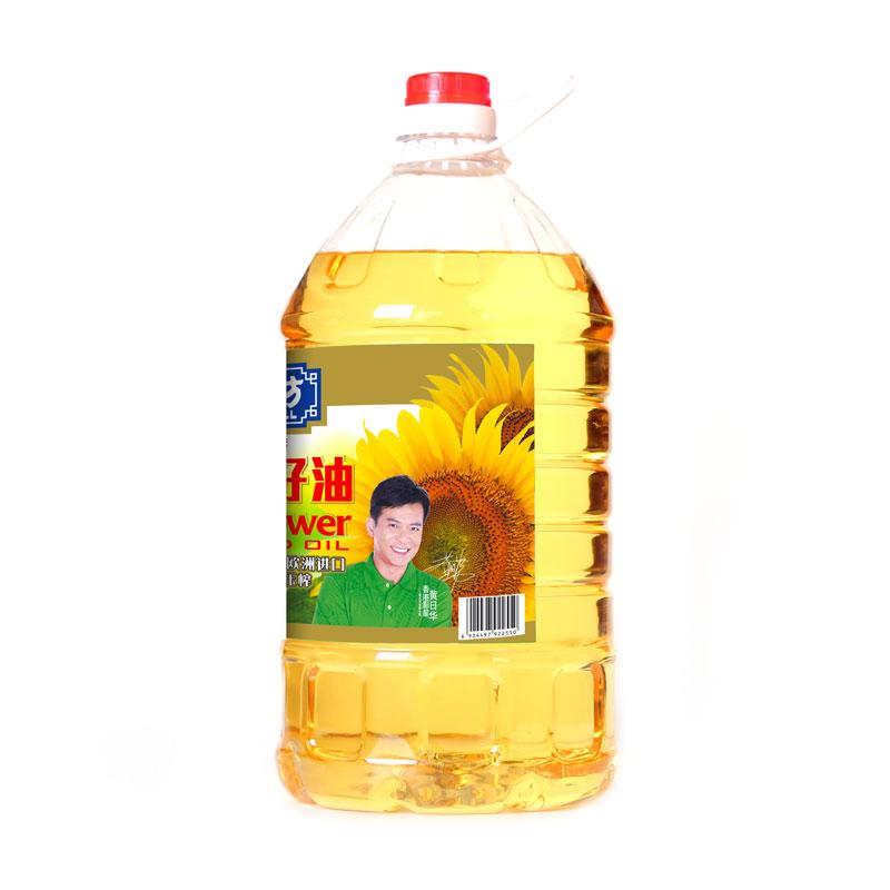 [S]福达坊清香葵花籽油5l 乌克兰原产 食用油葵花