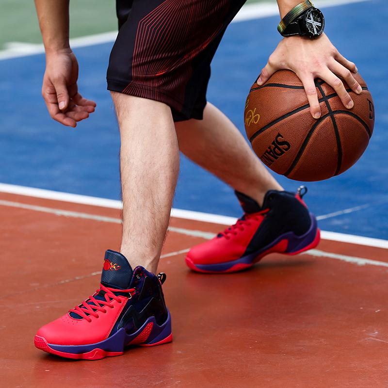 厍里篮球鞋男篮球鞋运动鞋男鞋耐磨乔7代球鞋詹姆篮球鞋战靴