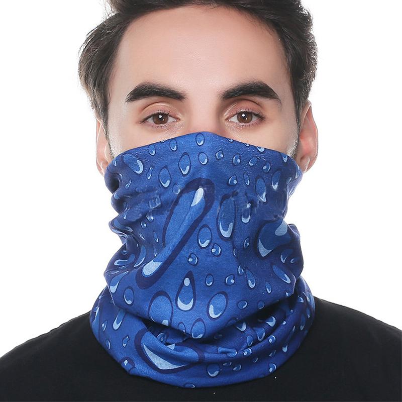 户外运动头巾百变魔术头巾无缝围脖防晒发带面罩骑行跑步徒步旅行