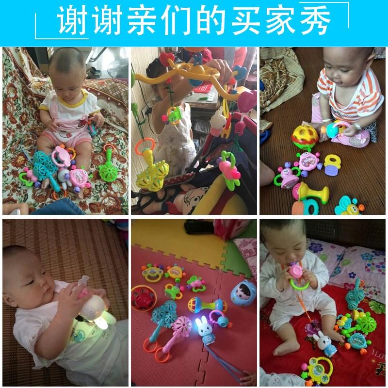手摇铃新生儿0-1岁婴儿玩具3-6个月女宝宝益智小孩子2到4男孩5至8