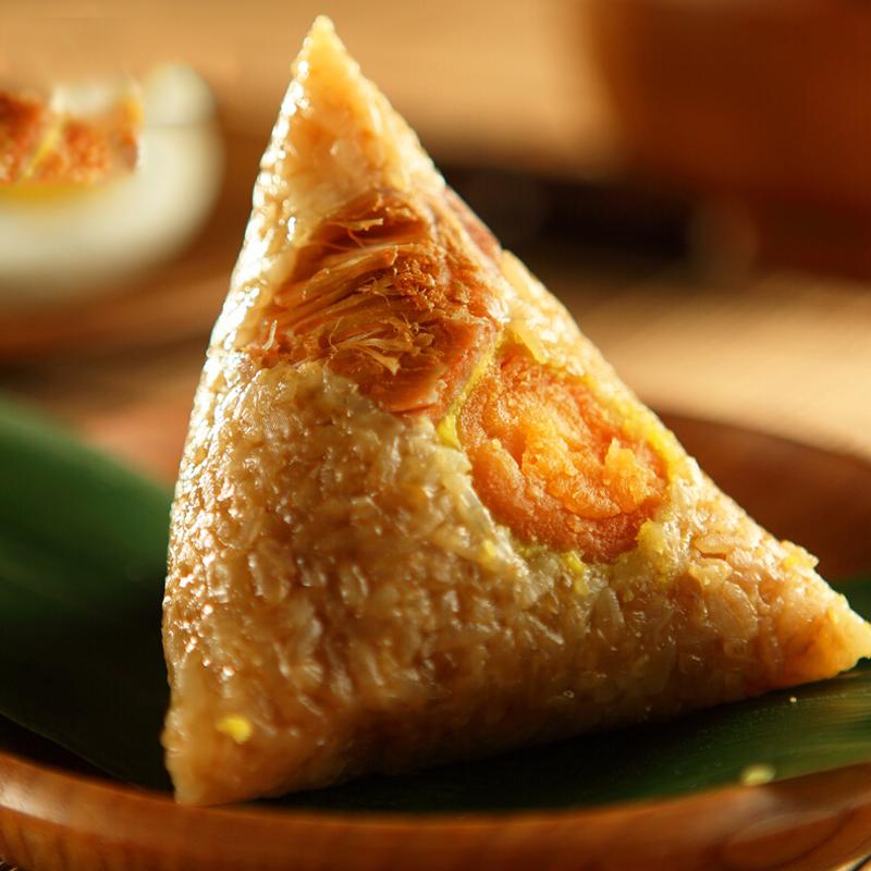 粽子 散粽特产鲜肉原味豆沙粽子600g