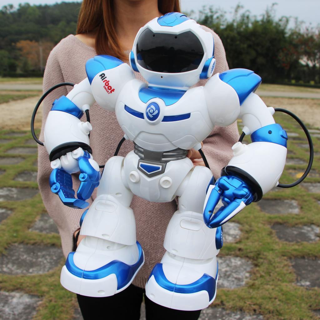 阿尔博特男孩飞机玩具图纸跳舞机械对话遥控机器人语音智电动开智儿童战警积木图片