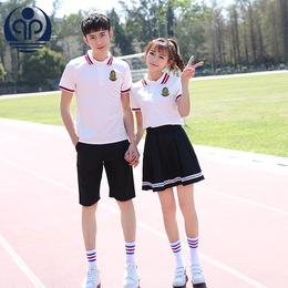 中学生校服套装学院风韩国英伦夏装校园服装女制服高中班服毕业装