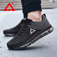 Pick Leopard PICK LEOPARD breathable sports shoes summer men's shoes full air running shoes black casual shoes