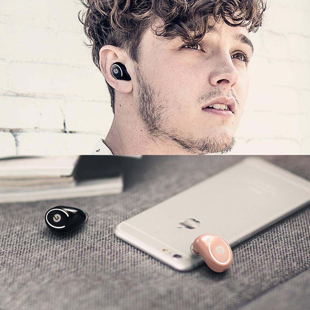 正品✅偏执者蓝牙耳机无线运动超小隐形迷你耳塞式跑步苹果x单iphone7入耳式8P耳麦plus手机开车可接听电话