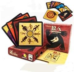 狼人杀游戏牌沃夫狼人与新月杀人游戏天黑请闭眼桌游卡牌玩具