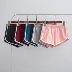 新品运动短裤女AA裤 瑜伽韩版热裤纯棉学生健身裤 睡裤显瘦沙滩裤