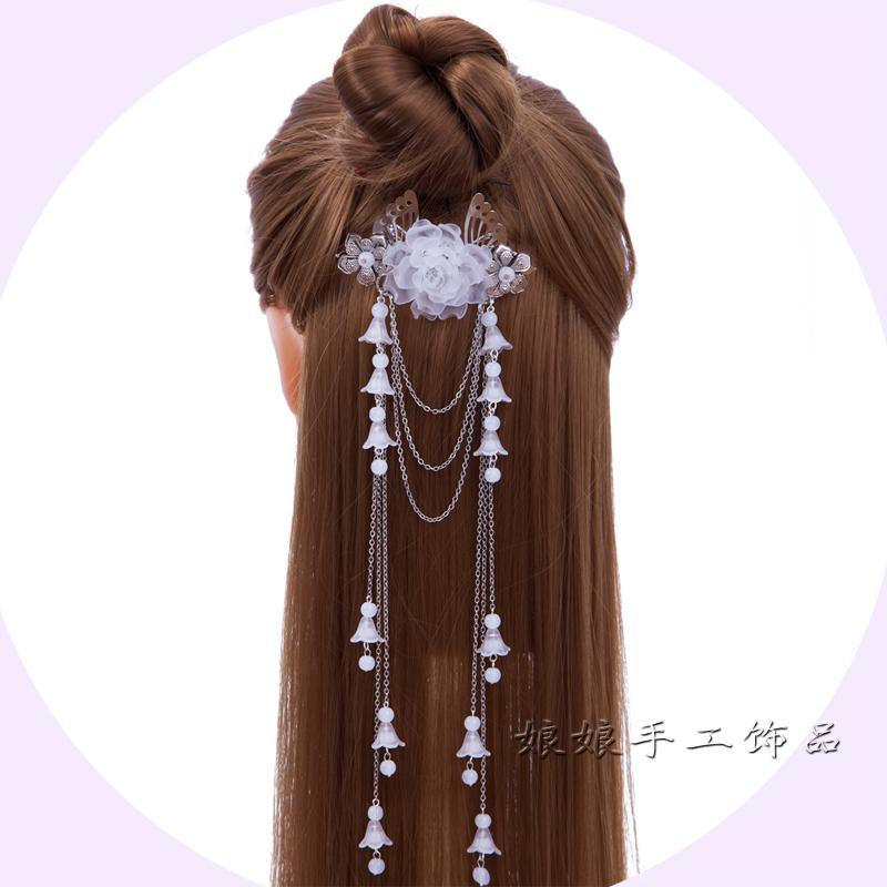 古装头饰古代发簪古典宫廷步摇儿童公主中国风古风发饰复古长流苏