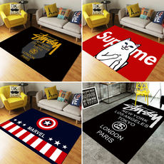 American Tide brand personality living room carpet British sofa coffee table carpet Nordic bedroom room bedside mat customization