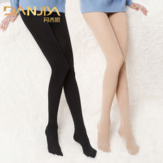 Meat color leggings spring and autumn winter rompers black nude skinny legs light leg socks artifact supernatural stockings women thin section steel