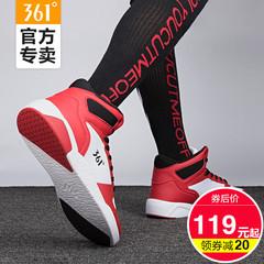 361°高帮鞋男2019鞋子男空军一号aj男鞋正品板鞋361运动鞋男高帮