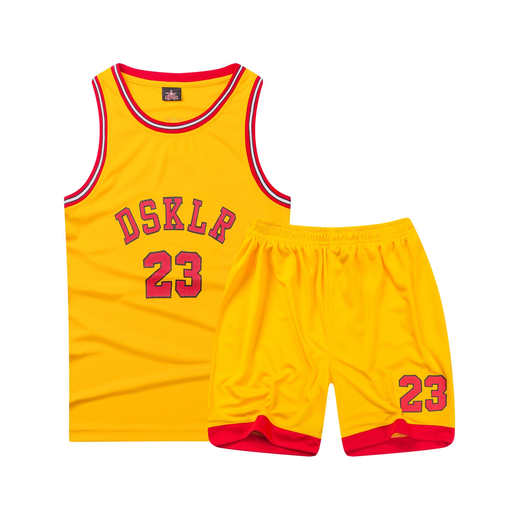 童装夏季男女婴幼儿童装 幼儿园背心短裤宝宝篮球衣服运动套装