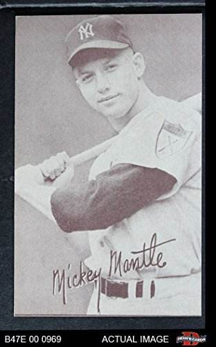 1947 Exhibits xPIN Mickey Mantle New York Yankees (Baseball
