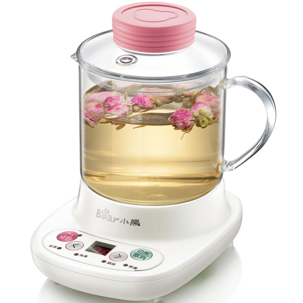 小熊养生壶加厚玻璃电热水杯迷你办公室煮牛奶加热器保温杯烧水器