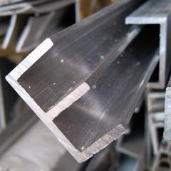 铝合金E型槽 山字槽25*14*2mm外宽25mm高14mm内槽宽8mm 玻璃卡槽