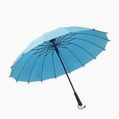 便宜包邮定制logo广告雨伞16k纯色直杆长柄晴雨伞礼品彩虹雨伞