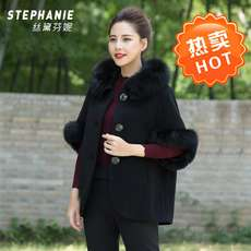 Autumn and winter coat fur coat double-faced long mother was thin Slim wild new fashion wool women