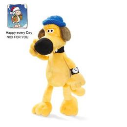 NICI专柜正品小羊肖恩农场动漫蓝衣比泽尔狗狗玩偶毛绒玩具公仔