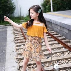 5小孩4中大童女孩穿的6公主裙子8衣服9连衣裙10岁7春夏天12夏季11