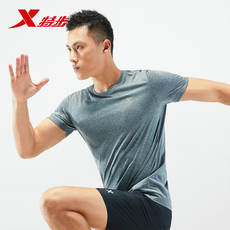 Special step short-sleeved T-shirt male 2019 summer new sports T-shirt breathable and quick-drying clothes men's jacket running fitness clothes