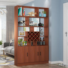 Wine cabinet modern minimalist living room entrance door entrance cabinet shoe cabinet restaurant double-sided partition cabinet compartment cabinet screen