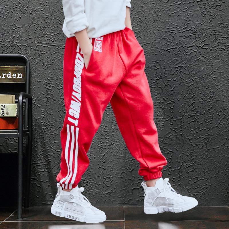 男童秋装运动裤2018新款儿童休闲加绒长裤子冬款童装中大童韩版潮