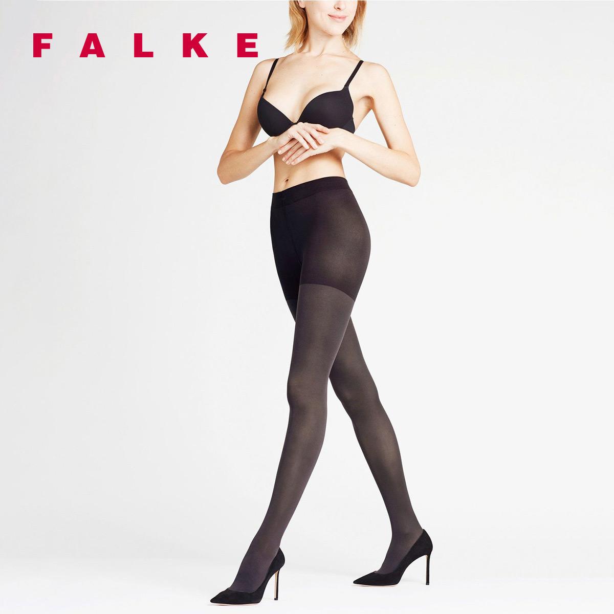FALKE德国鹰客Leg Energizer 50D厚半透明哑光连裤袜丝袜女40585