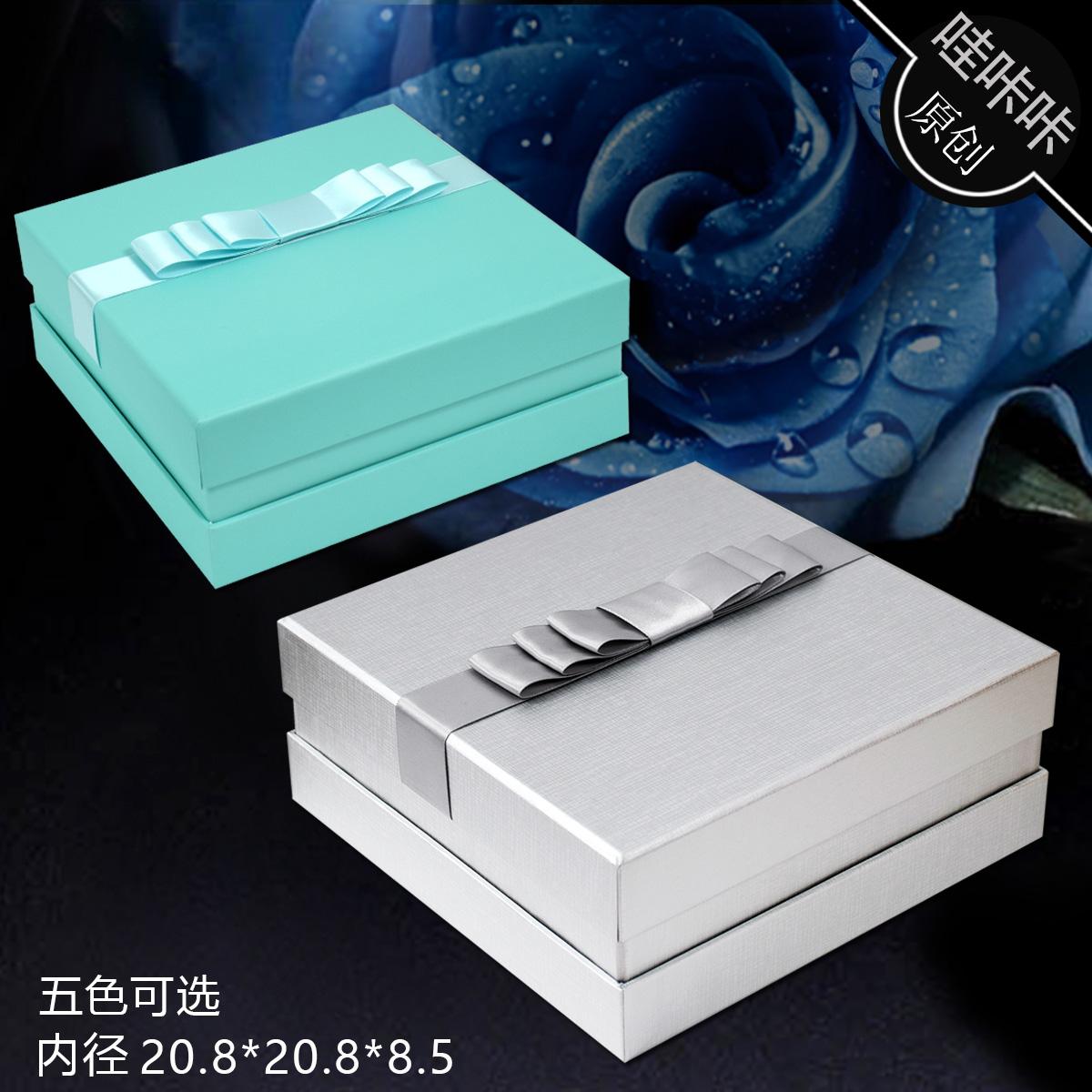 高档礼品盒正方形化妆品口红香水包装盒礼物盒蜂蜜黑枸杞燕窝礼盒图片