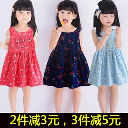 1夏季2儿童3碎花连衣裙4岁女童7纯棉裙子8韩国小孩衣服5韩版夏装6