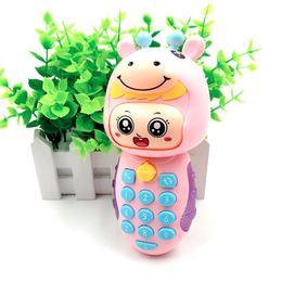 宝宝音乐变脸小手机电话婴儿01-3岁早教手机小孩声光益智儿童玩具