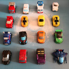 Mini deformation car Optimus King Kong will be hunting for Q car robot children pocket car toy