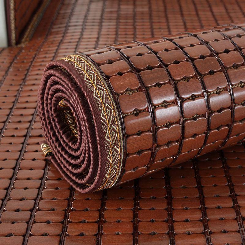 夏天款沙发上的竹垫夏季三人竹席凉垫防滑凉席垫1+2+3套装三件套.
