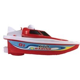 2018新款船会动儿童电动快艇模型游艇玩具小型泳池战舰玩水男孩游
