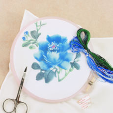 Embroidery diy kit beginners hand bag ancient style su embroidery diy beginner handkerchief to send boyfriend's gift special