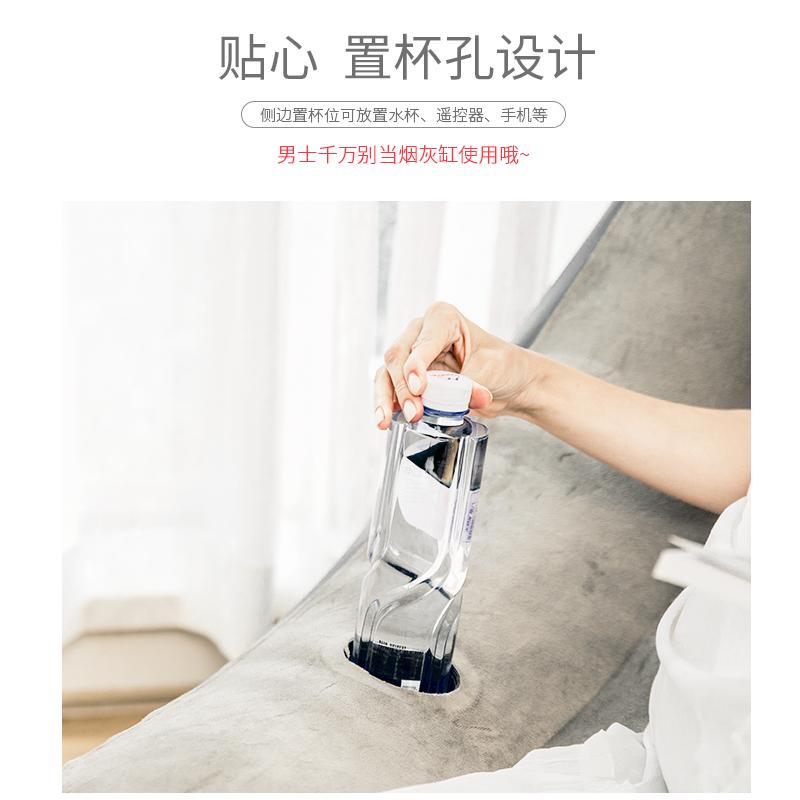 抖音空气沙发网红充气躺椅懒人单人冲气坐吹气座打气透明便携椅子